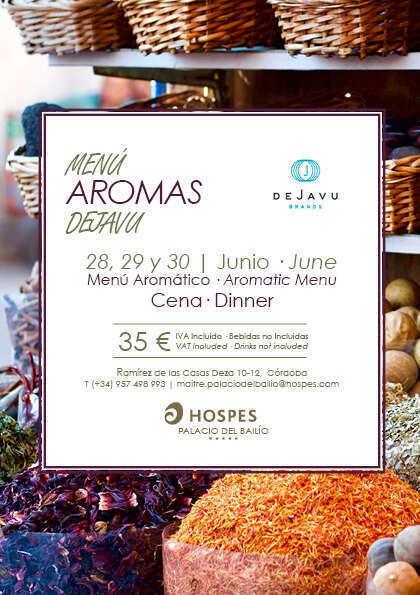 Menú aromático en Hospes Hotels: fusión gastro-olfativa