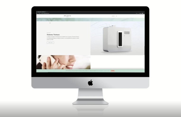 Cambio digital: lanzamiento de nueva web de Dejavu Brands